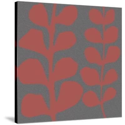 Maidenhair Coral Stem (double)-Denise Duplock-Stretched Canvas Print