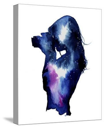 Shooting Stars-Jessica Durrant-Stretched Canvas Print