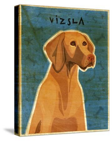 Vizsla-John W^ Golden-Stretched Canvas Print
