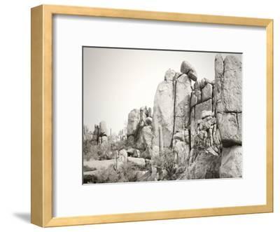 Rock Wall-Murray Bolesta-Framed Art Print