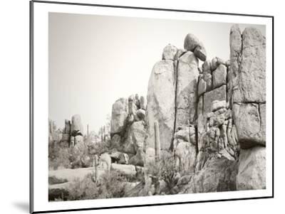Rock Wall-Murray Bolesta-Mounted Art Print