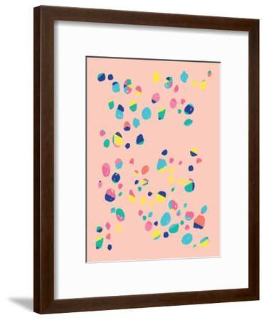 Confetti-Ashlee Rae-Framed Art Print