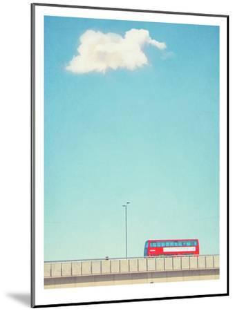 Lonely Skies London-Mina Teslaru-Mounted Art Print