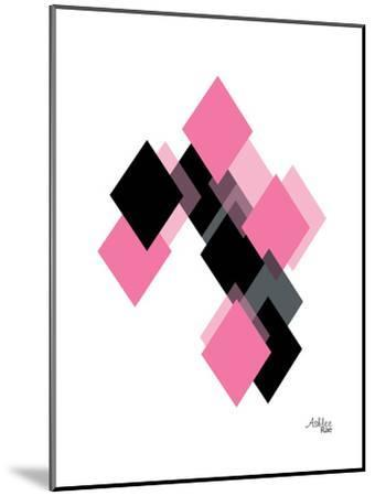 Geometric Diamond-Ashlee Rae-Mounted Art Print