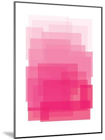 Pink Ombre-Ashlee Rae-Mounted Art Print