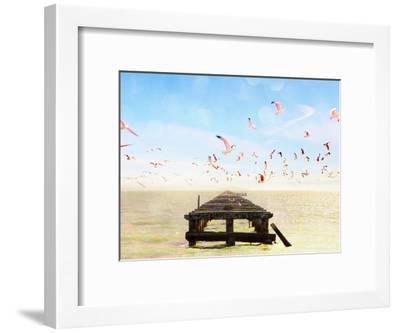 Berkeley Marina-Mina Teslaru-Framed Art Print