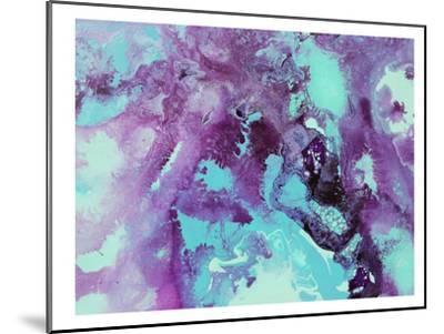 Purple Bubbles-Deb McNaughton-Mounted Art Print