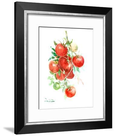Vine Tomatoes-Suren Nersisyan-Framed Art Print
