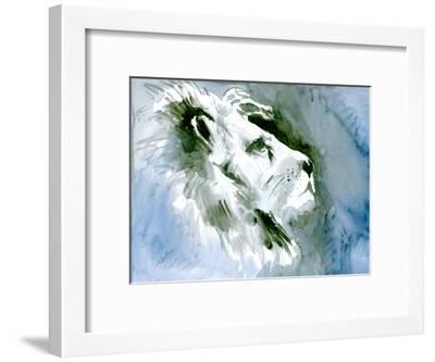 Lion Portrait-Suren Nersisyan-Framed Art Print