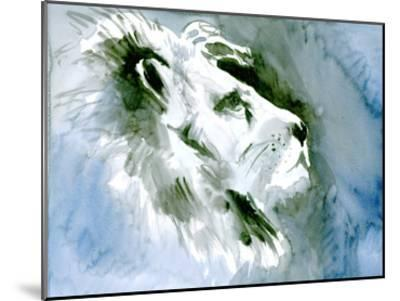 Lion Portrait-Suren Nersisyan-Mounted Art Print