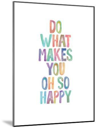 Do What Makes You Oh So Happy-Brett Wilson-Mounted Art Print