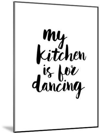 My Kitchen is for Dancing-Brett Wilson-Mounted Art Print