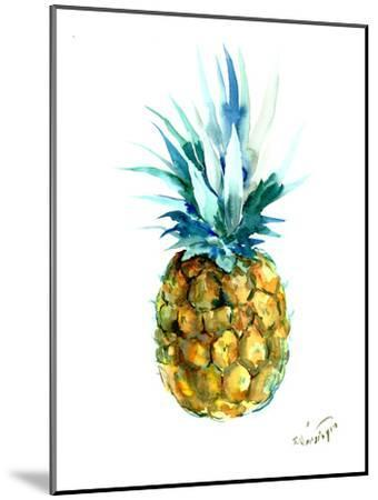 Pineapple-Suren Nersisyan-Mounted Art Print