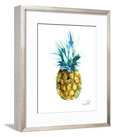 Pineapple-Suren Nersisyan-Framed Art Print