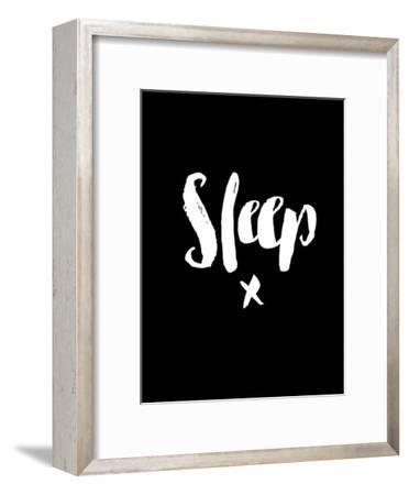 Sleep Blk-Brett Wilson-Framed Art Print