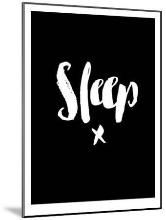 Sleep Blk-Brett Wilson-Mounted Art Print