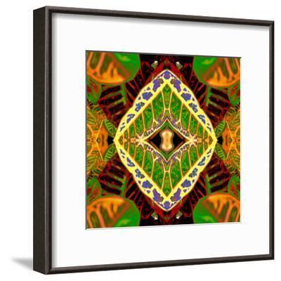 Croton Dashiki-Rose Anne Colavito-Framed Art Print
