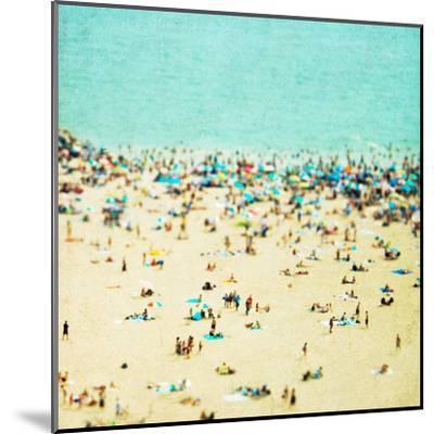 Coney Island Beach1-Mina Teslaru-Mounted Art Print