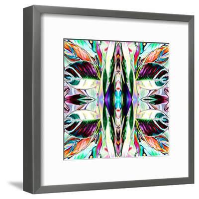 Featherleaf-Rose Anne Colavito-Framed Art Print