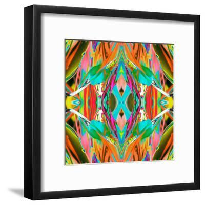 Ti Plant 2X-Rose Anne Colavito-Framed Art Print