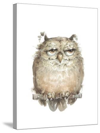 Owl VII-Judy Rossouw-Stretched Canvas Print