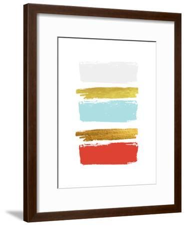 Brushes 3-Ikonolexi-Framed Art Print