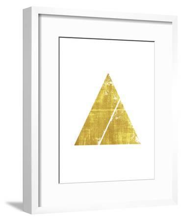 Triangle 1-Ikonolexi-Framed Art Print