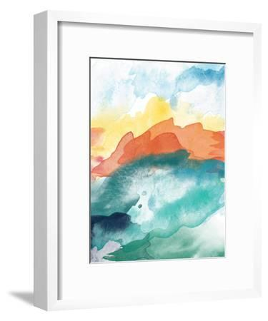 Abstract 3-Amy Brinkman-Framed Art Print