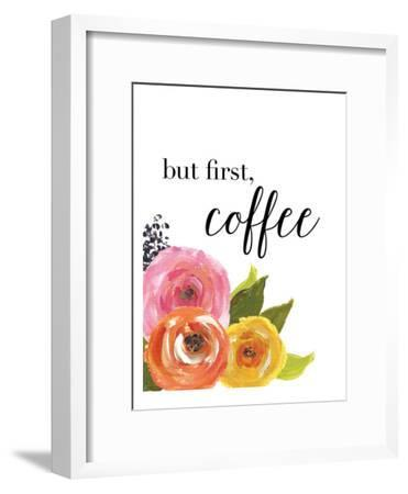 But First Coffee-Amy Brinkman-Framed Art Print