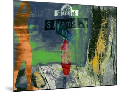 Southside - Ft. Worth-Sisa Jasper-Mounted Giclee Print
