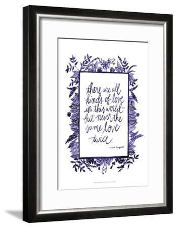 Love Quote IV-Grace Popp-Framed Art Print