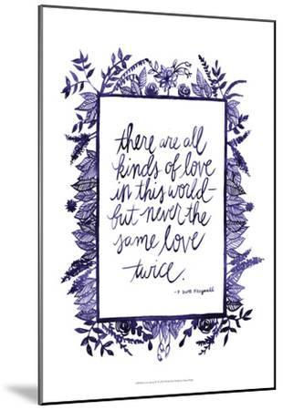 Love Quote IV-Grace Popp-Mounted Art Print