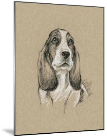 Breed Sketches VI-Ethan Harper-Mounted Giclee Print