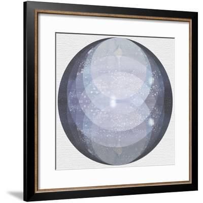 Night Circles-Naomi McCavitt-Framed Art Print