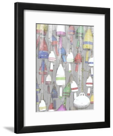 Dockside I-Jarman Fagalde-Framed Art Print