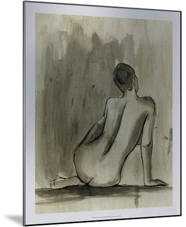 Sumi-e Figure II-Ethan Harper-Mounted Premium Giclee Print