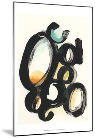 Cellular Structure I-June Vess-Mounted Art Print