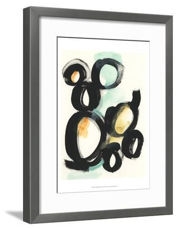 Cellular Structure III-June Vess-Framed Art Print