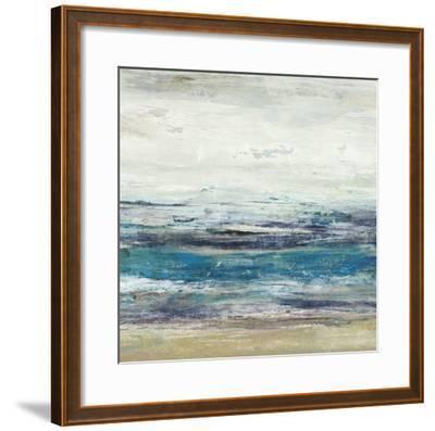 Indigo Horizon II-Studio W-Framed Art Print
