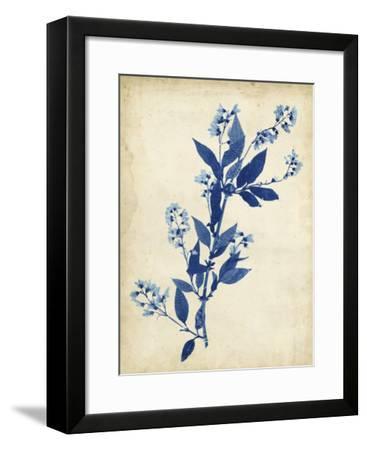 Indigo Leaf Study I-Vision Studio-Framed Giclee Print