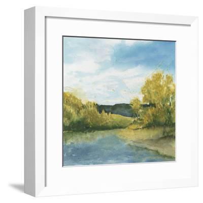 River Sketch II-Megan Meagher-Framed Limited Edition