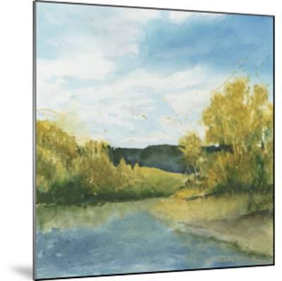 River Sketch II-Megan Meagher-Mounted Limited Edition