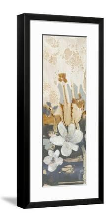 Drippy Flower Abstract I-Jennifer Goldberger-Framed Limited Edition