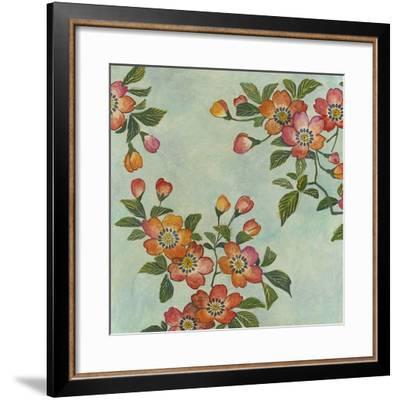 Eastern Blossoms I-Megan Meagher-Framed Giclee Print