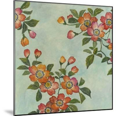 Eastern Blossoms I-Megan Meagher-Mounted Giclee Print