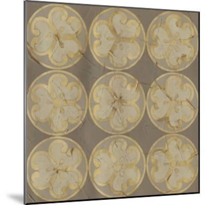 Golden Trellis IX-June Vess-Mounted Giclee Print