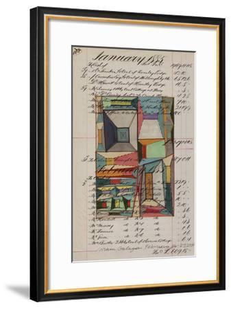 Journal Sketches VII-Nikki Galapon-Framed Limited Edition