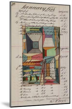 Journal Sketches VII-Nikki Galapon-Mounted Limited Edition
