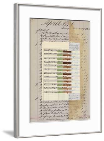 Journal Sketches XII-Nikki Galapon-Framed Limited Edition