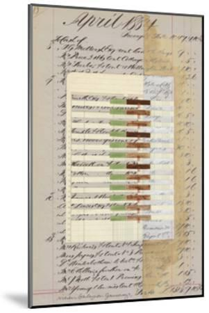 Journal Sketches XII-Nikki Galapon-Mounted Limited Edition